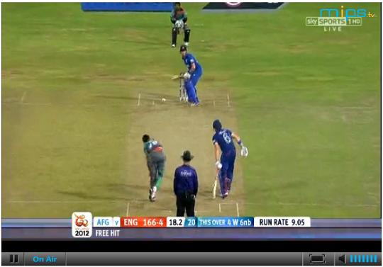 cricket live video online server 1