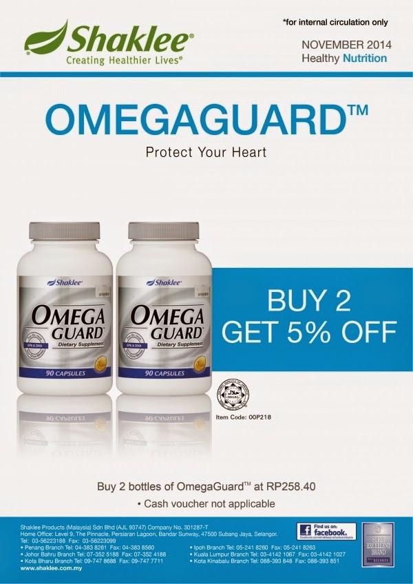 Promo Omega 2 Bottles Disc 5%