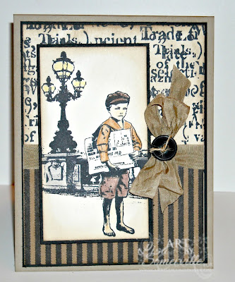 Stamps - Artistic Outpost Paperboy, Windows and Doors.  Designer - Lisa Somerville