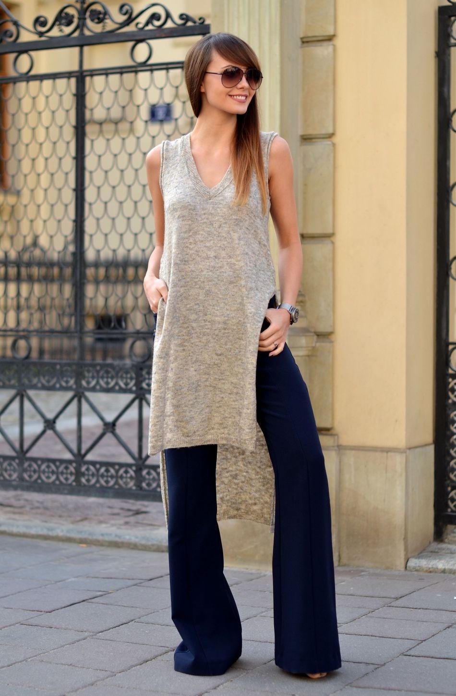 spodnie dzwony | kamiezelka | blogerka modowa | blogi o modzie | cammy blog |