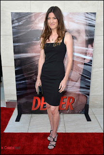 "Jennifer Carpenter Pictures in Little Black Dress at ""Dexter"" Season 8 premiere  0003"