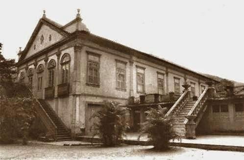 Pavilhão principal do Colégio Brasil (1902-1985)