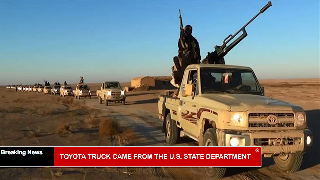 BREAKING: ISIS Toyota Trucks Came From The 'U.S. State Department'
