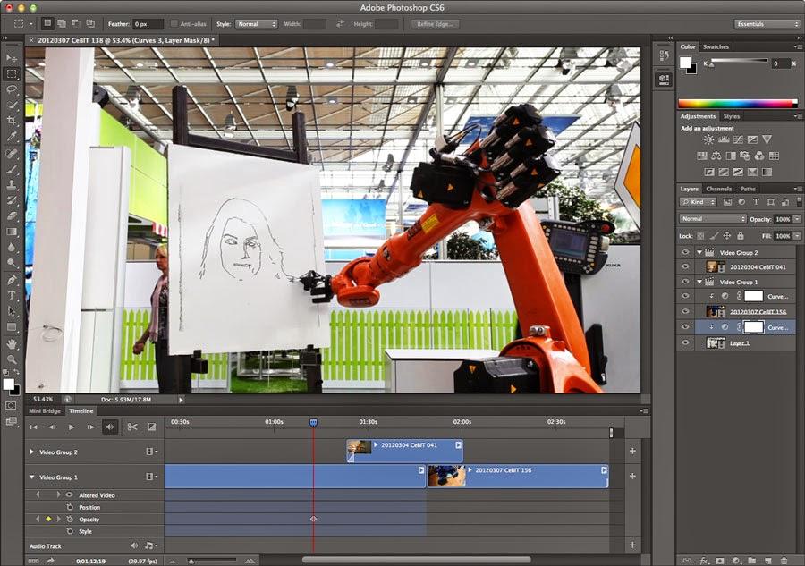 Technology Support Portable Adobe Photoshop Cs6