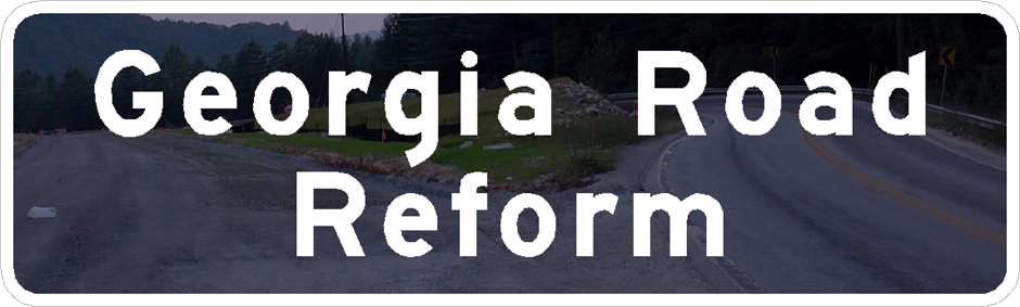 Georgia Road Reform