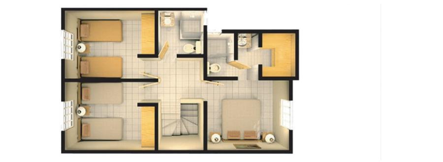 planos de casas pequenas de interes social