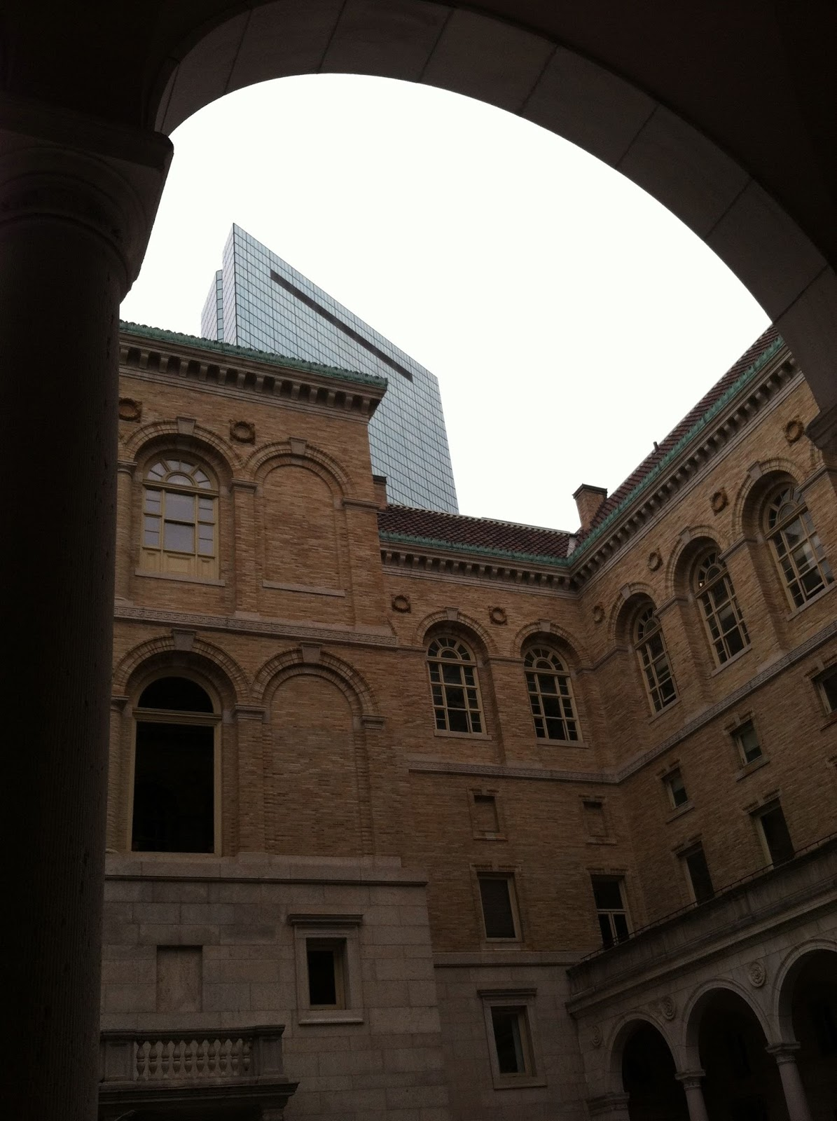 Boston Public Library John Hancock