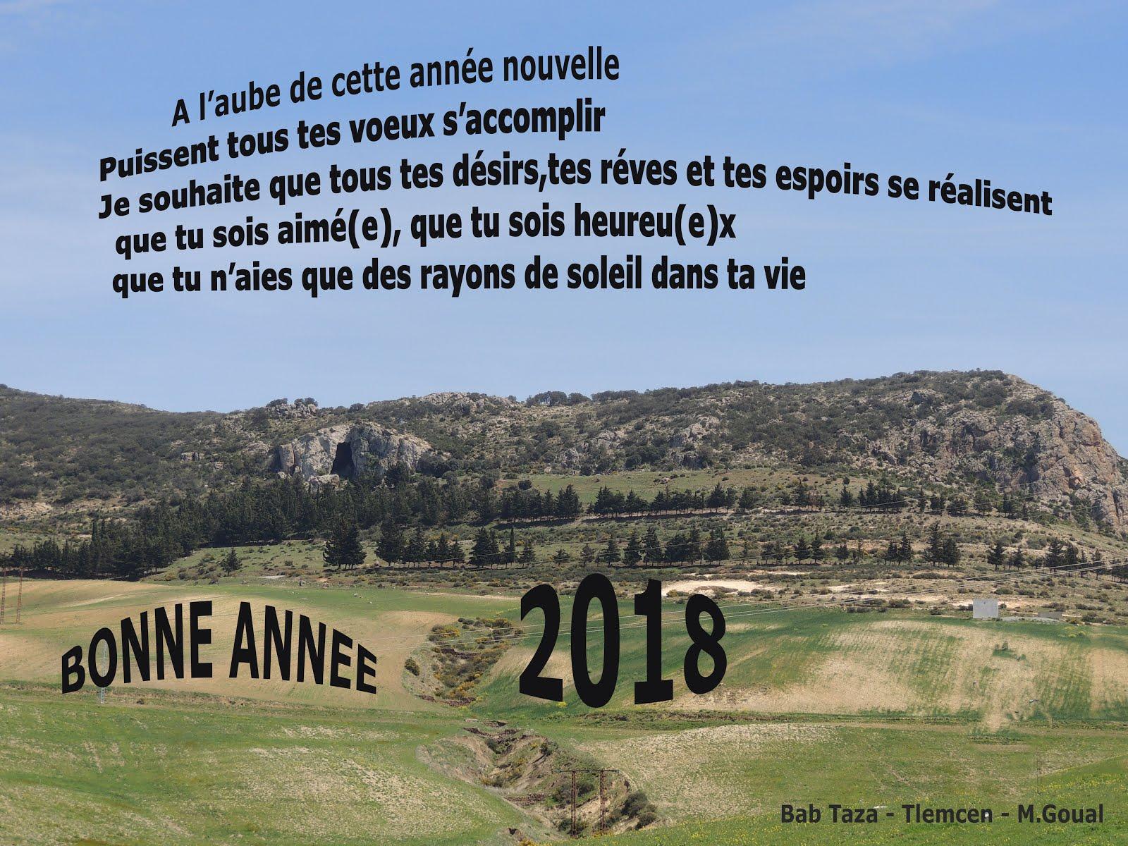 Bonne année 2018 de Maghnia