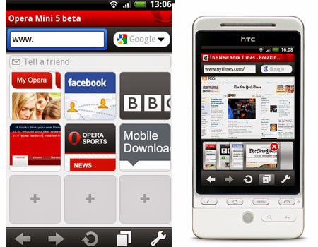 Download Opera Mini 5 Beta Mobile9 Untuk HP