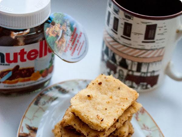 Печенье с лесным орехом и Нутеллой