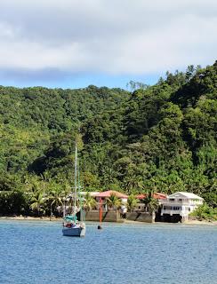 Ankern vor Futuna