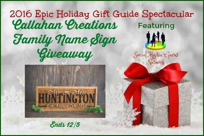 Callahan Creations Family Name Sign