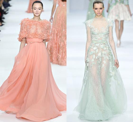 Elie Saab, Fashion Week paris 2012