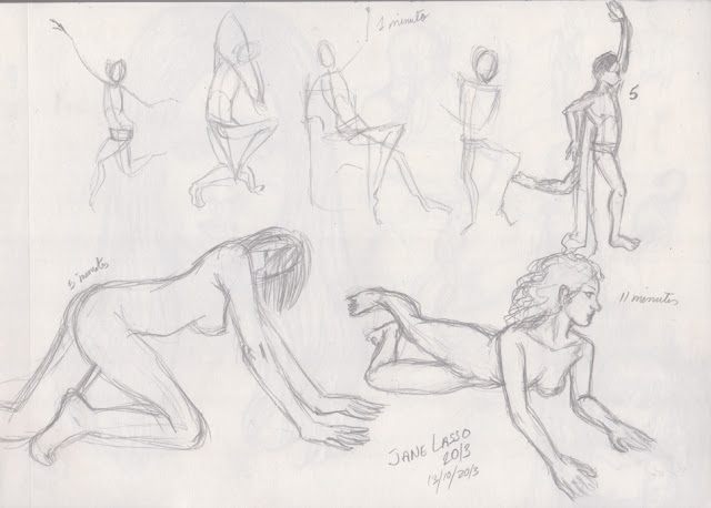 Practica de poses 1 , 5 y 11 minutos
