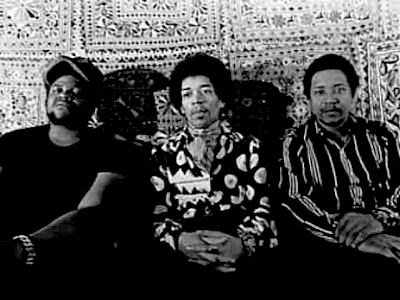 'Band of Gypsies' - Buddy Miles, Jimi Hendrix and Billy Cox
