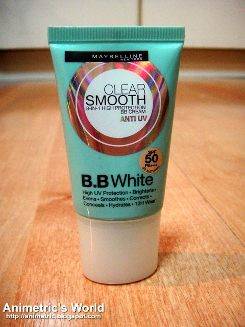 Maybelline Clear Smooth BB White Review