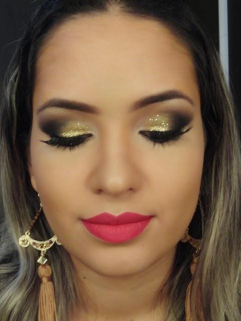 Populares Blog da Mayara: Vídeo tutorial: Maquiagem para usar com Vestido  HX14