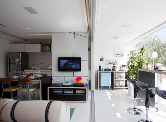 Entre barrancos decoraci n todo en 50 metros cuadrados for Vivir en 50 metros cuadrados