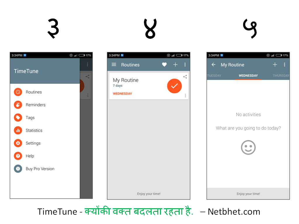 TimeTune - Android time mamanegement productivity app
