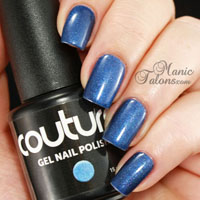 Couture Gel Polish After Midnight Swatch