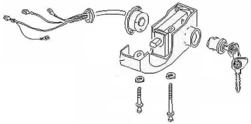 locking ignition switch