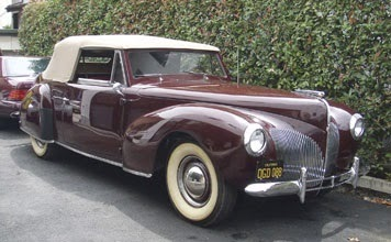 world of classic cars lincoln zephyr world of classic cars rank 158. Black Bedroom Furniture Sets. Home Design Ideas