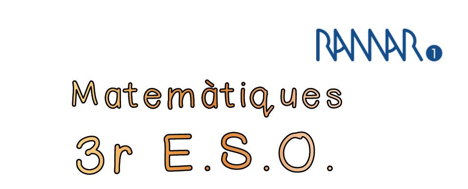MATEMÀTIQUES - 3r ESO
