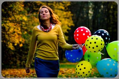 Jesień w Rudzie Śląskiej. Modna Ruda szuka Rudej z Rudy do kalendarza. fot. Łukasz Cyrus