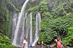 Senaru Waterfalls