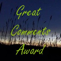 Award I made for my commenters!