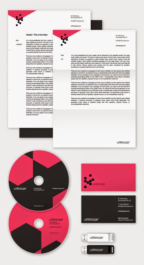 Federico Landini - Whitescape - Corporate Identity