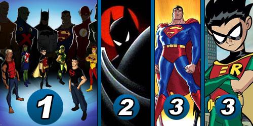 Os melhores desenhos animados do DC Nation