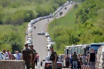 Autorità ucraine vogliono iniziare la fornitura di prodotti ai territori occupati attraverso i mercati sulla linea di separazione