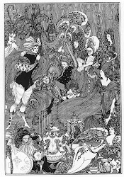 Beardsley, The Cave of Spleen