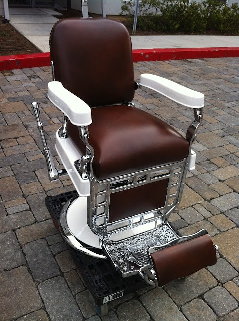 Antique Barber Chairs1