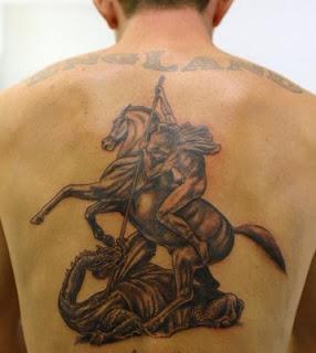 fotos de Tatuagens de São Jorge