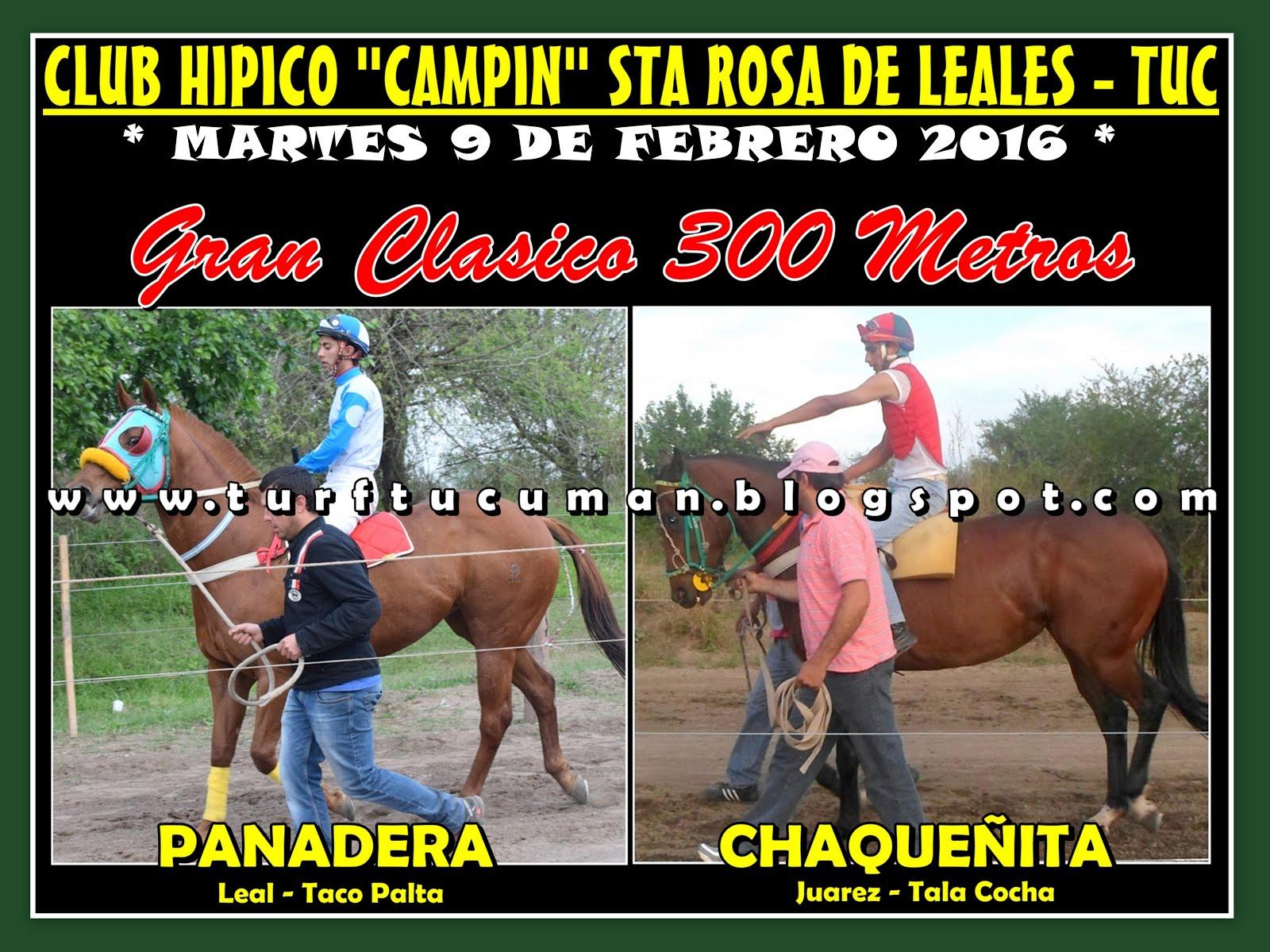 PANADERA VS CHAQUEÑA