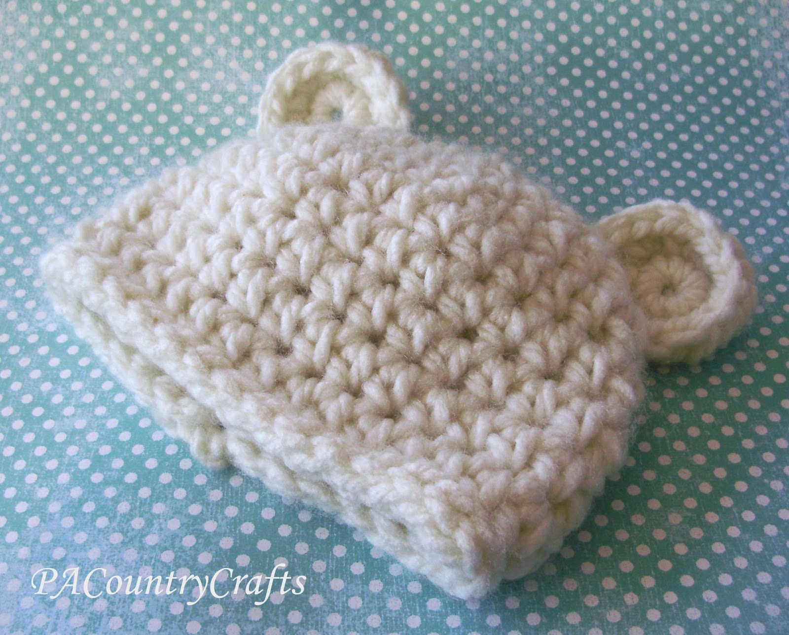 Crochet Bear Hat Pattern PA Country Crafts