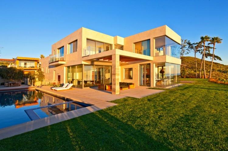 Art planet urban culture o projeto de uma casa em malibu beach - Luxury beach house plans design ...