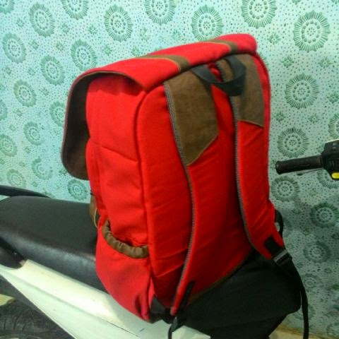 Backpack Kombinasi Kulit