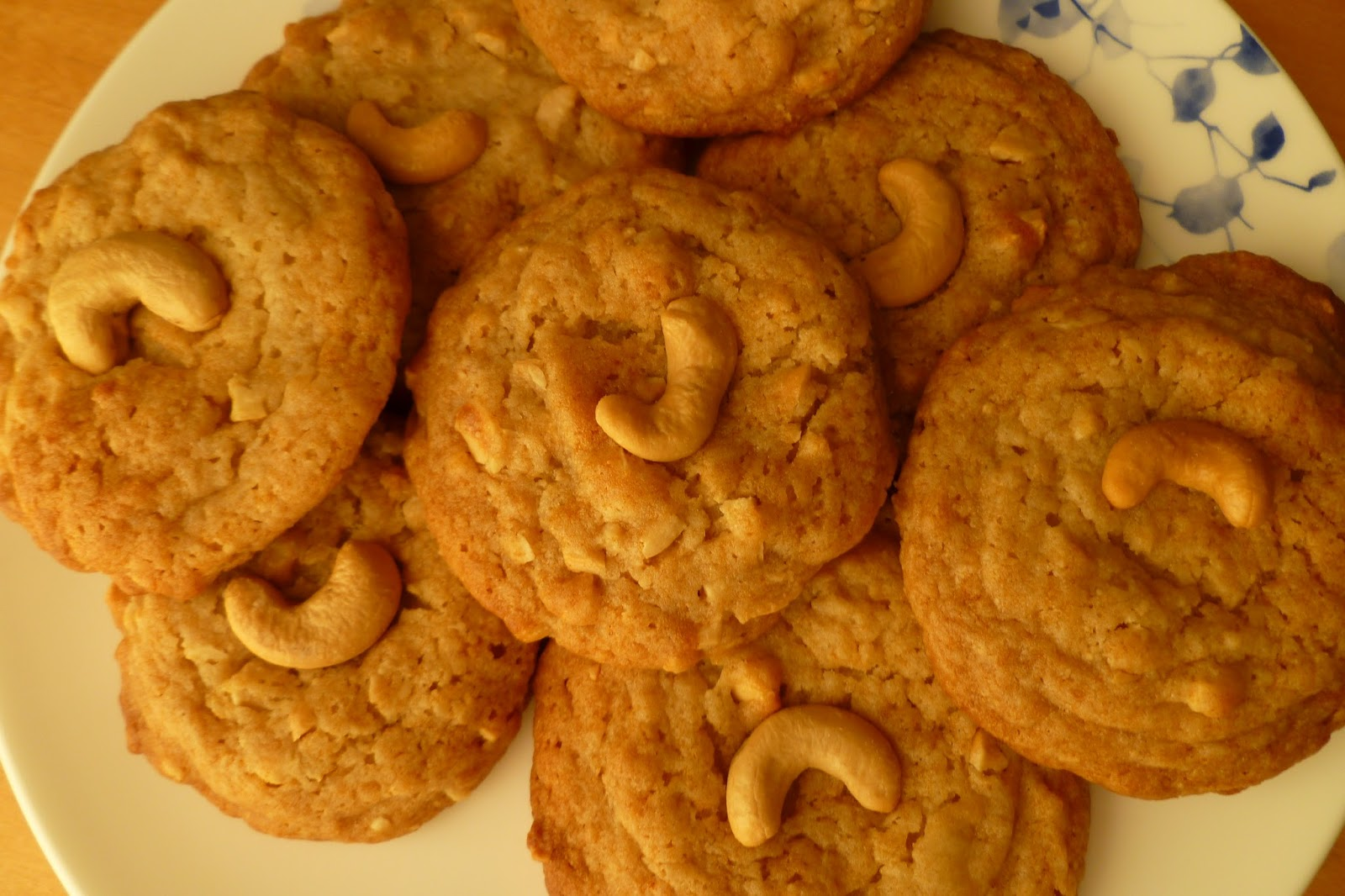 Cashew Butter Cookies - made August 24, 2013 from Land O Lakes Cookies