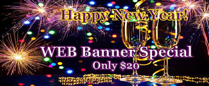 Special Banner $20