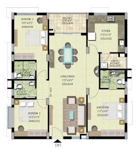 House Plans: West Facing House plans.