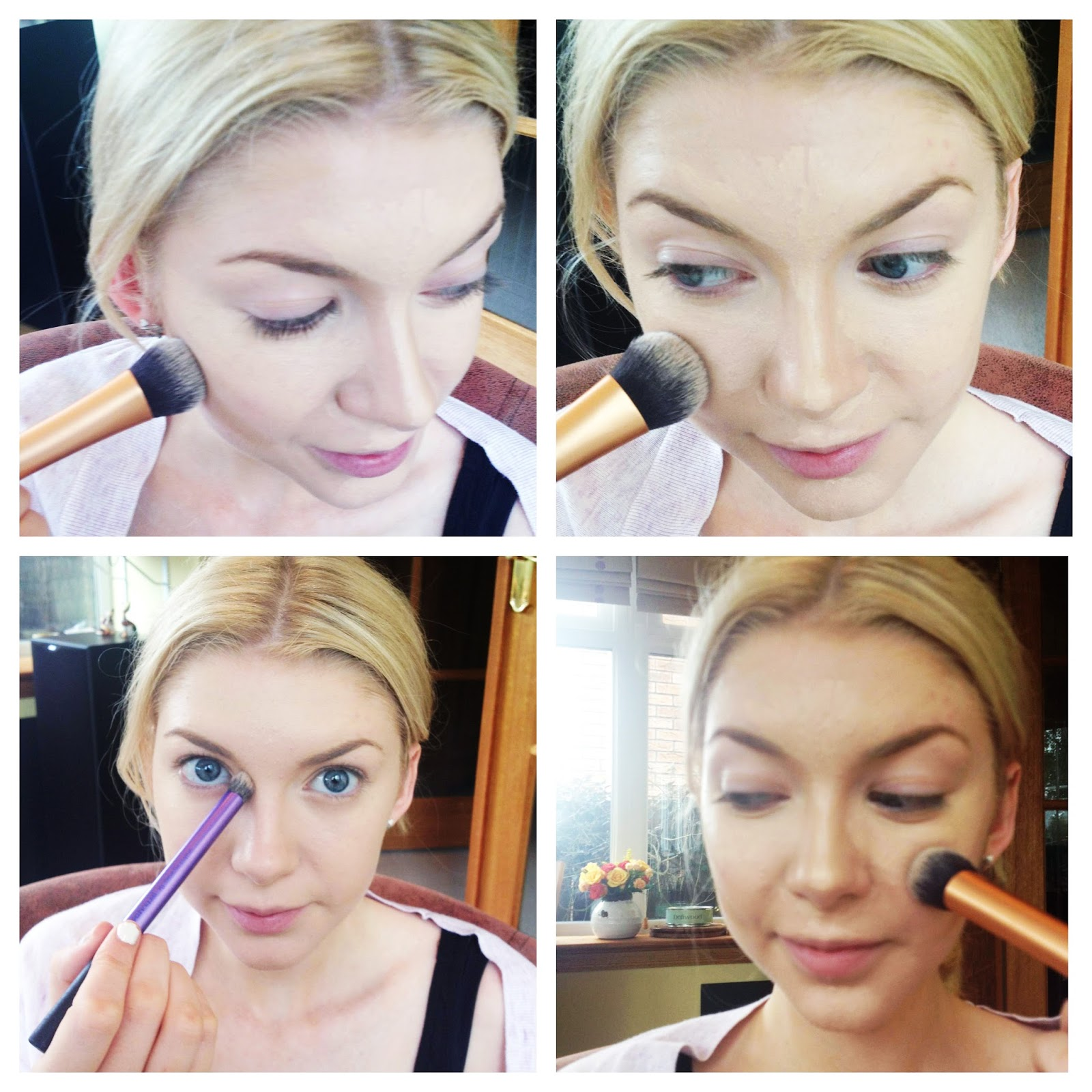 Apply Directly Under The Cheekbones, The Sides Of The Nose (right Up To  The Contouring Products