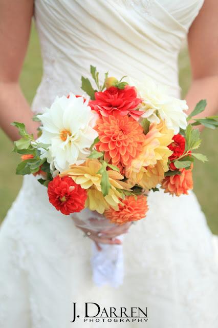 bridal flower bouquet at a Bermuda Run Counrty Club Wedding in Bermuda Run North Carolina