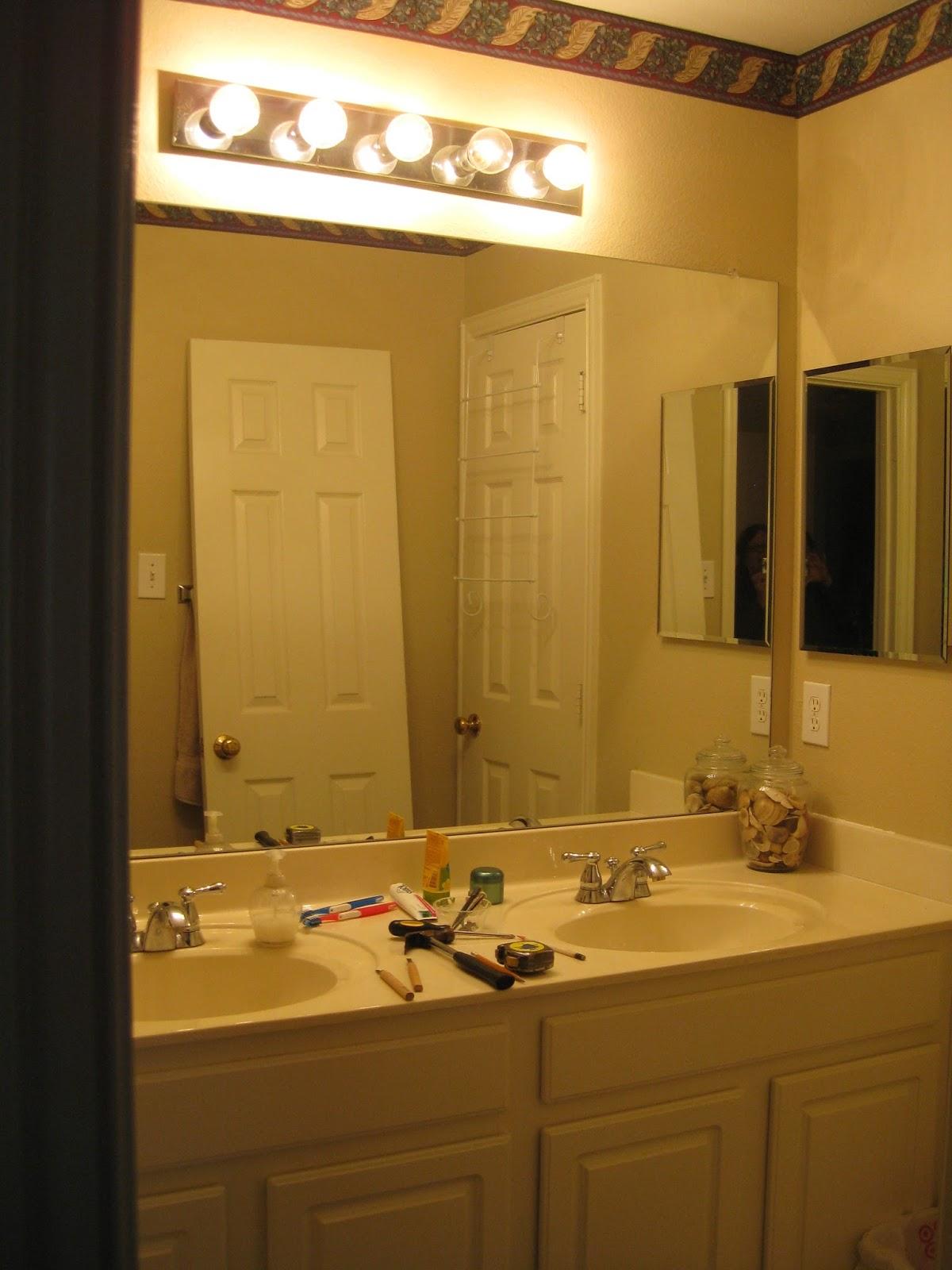 Brookhollow Lane: Bathroom Mini Redo