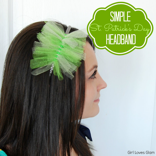 Simple St. Patrick's Day Headband - Girl Loves Glam