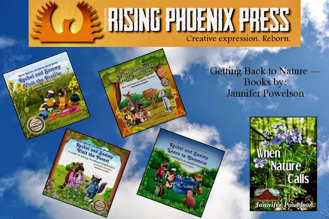 Getting Back to Nature -- Books by Jannifer Powelson