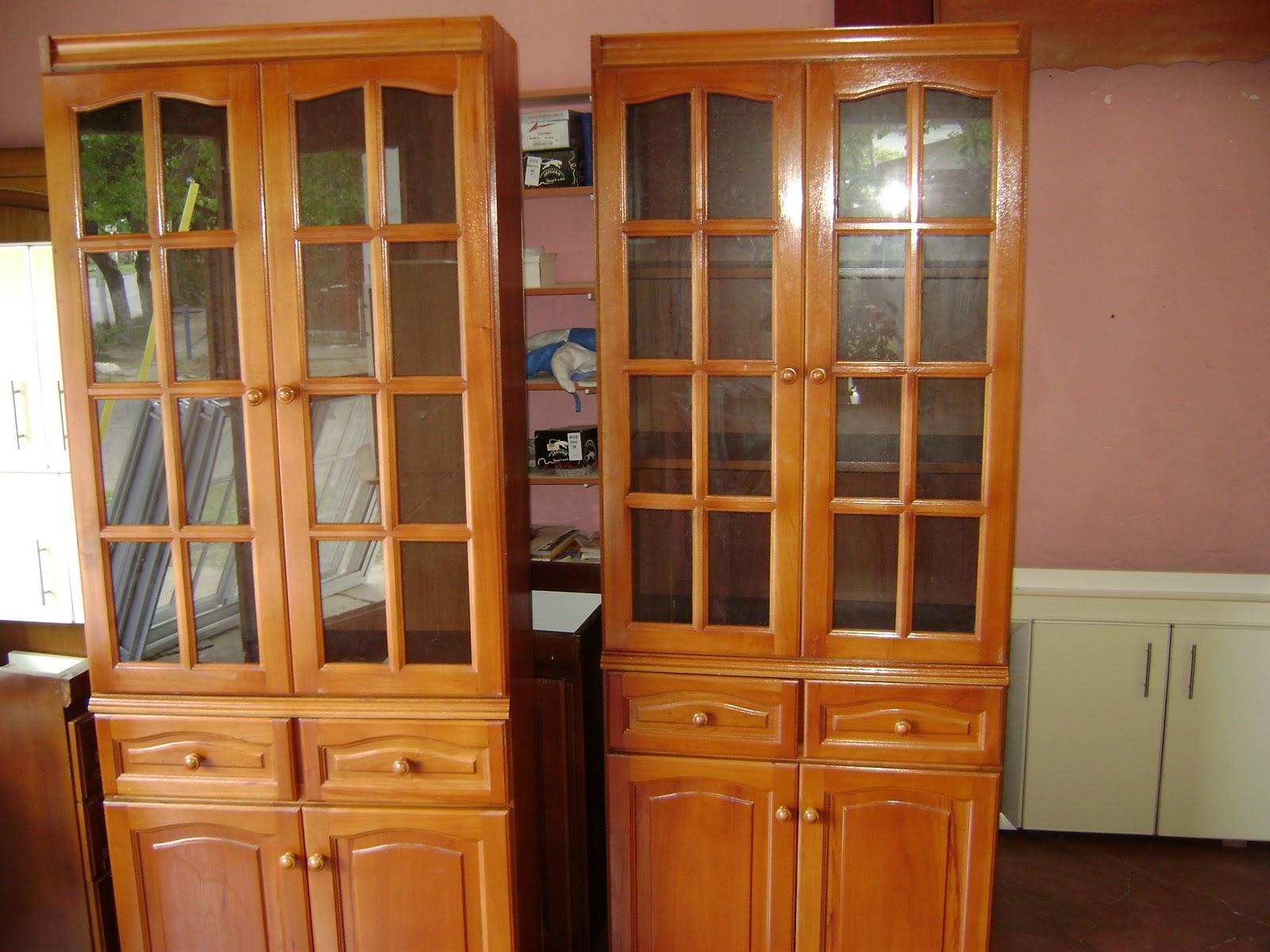 El Cedro Muebles Cristaleros Pino