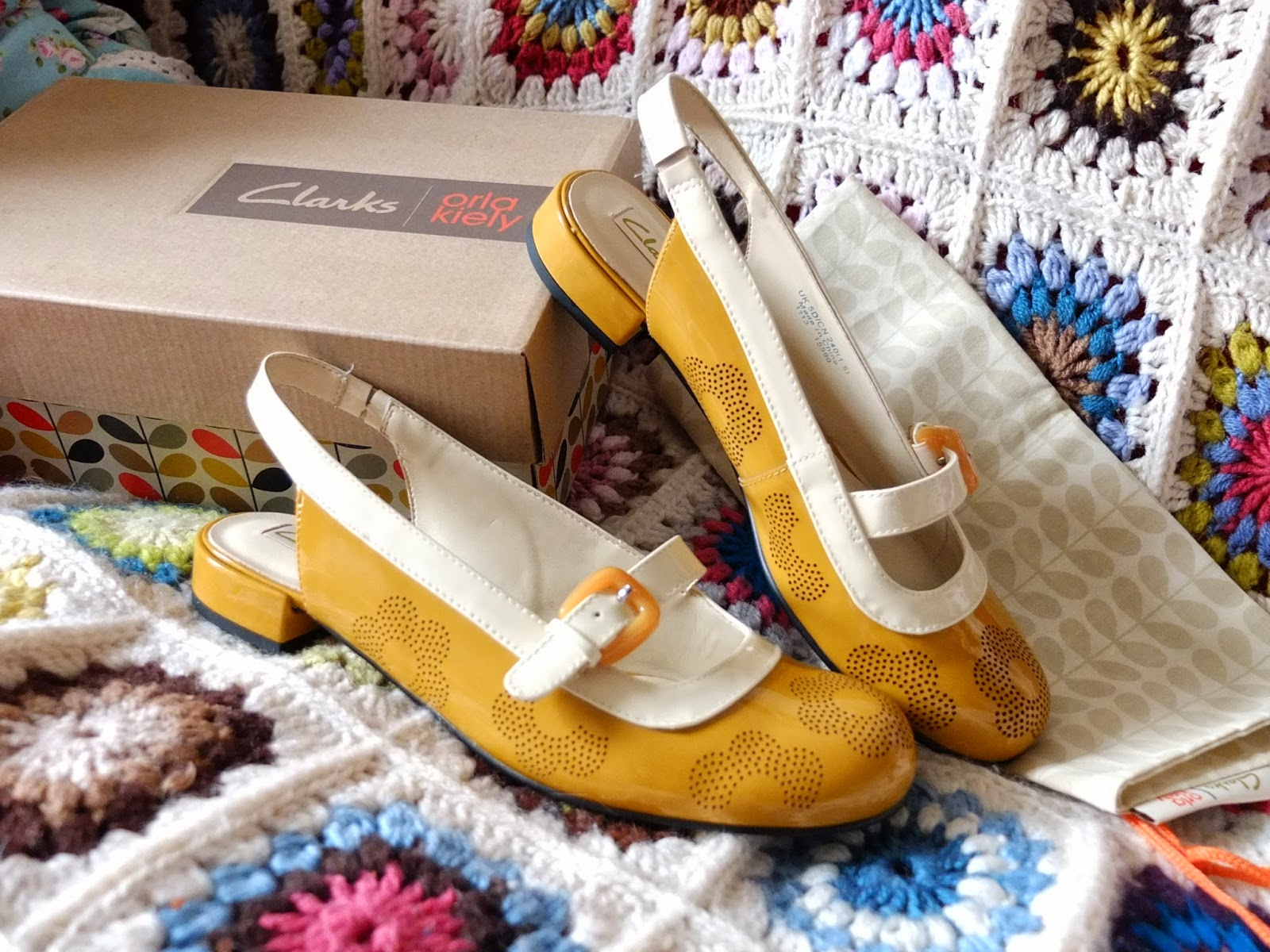 Sixties Style on Hello Terri Lowe Blog: Orla Kiely Milly Clarks Shoes